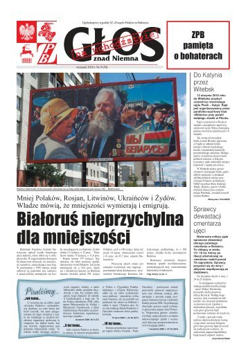 Białoruś nieprzychylna dla mniejszości - Kresy24.pl