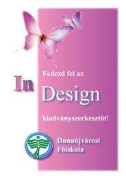 Fedezd fel az In Design - Szoftver