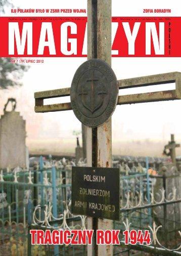 TRAGICZNY ROK 1944 - Kresy24.pl