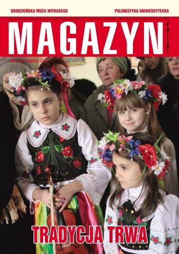 Grodzieńska muza WitkaceGo Polonistyka uniWersytecka - Kresy24.pl