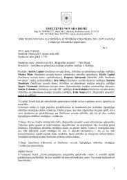 Sabiedriskās apspriedes sanāksmes protokols - Smiltene