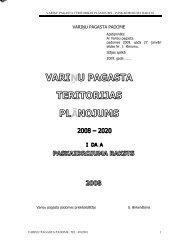 VARIŅU PAGASTA TERITORIJAS PLĀNOJUMS - Smiltene
