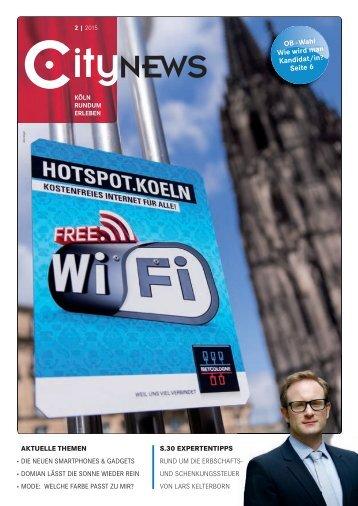 CityNEWS Ausgabe 02/2015