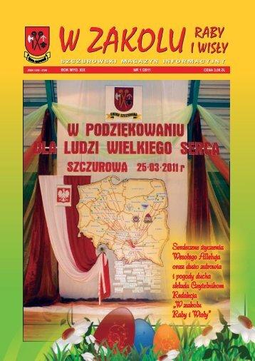 Numer 1/2011 - Gminne Centrum Kultury Czytelnictwa i Sportu w ...