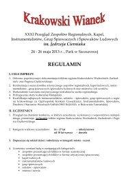 Regulamin - Gminne Centrum Kultury Czytelnictwa i Sportu w ...