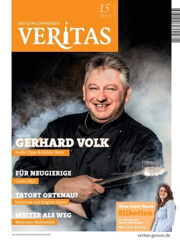VERITAS - Das Genussmagazin / Ausgabe - 15-2015