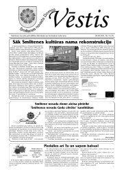 Smiltenes novada Domes Vēstis 2