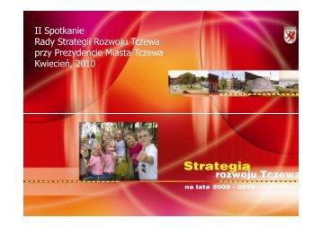 Rada Strategii - drugie posiedzenie - Tczew, Urząd Miasta