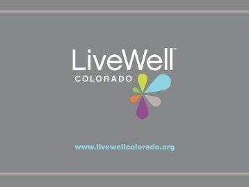 Angie Villamaria - LiveWell Colorado