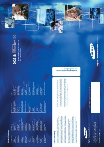 OfficeServ 100 Brochure - Easyinfo