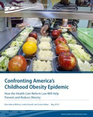 Confronting America's Childhood Obesity Epidemic - LiveWell ...