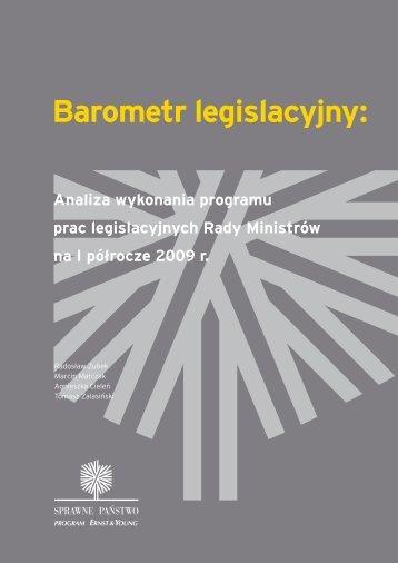 Barometr legislacyjny: - Domański Zakrzewski Palinka