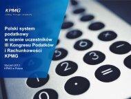 Polski system podatkowy w ocenie uczestników III ... - QBusiness.pl