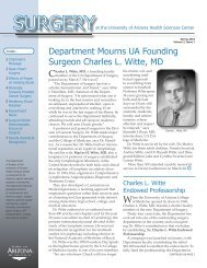 Volume 2, Issue 1, Spring 2003 - Department of Surgery - University ...
