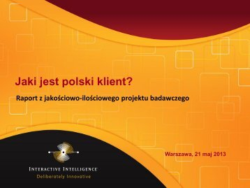Jaki jest polski klient? - QBusiness.pl