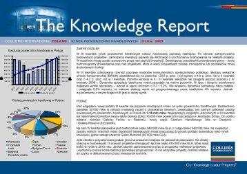 Rynek powierzchni handlowych - III kwartał 2009 - QBusiness.pl