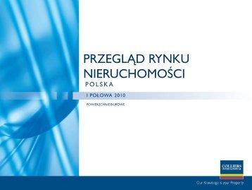 Przegląd Rynku Nieruchomości w I połowie 2010 roku - QBusiness.pl