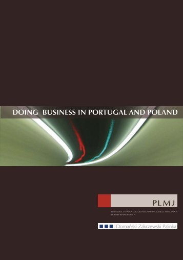 doing business in portugal and poland - Domański Zakrzewski Palinka