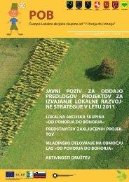 od pohorja do bohorja - Razvojna agencija Kozjansko