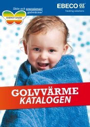 golvvärme katalogen - Elnu.se