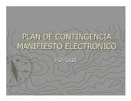 Plan de contingencia Manifiesto Electronico PSP.pdf - GS1