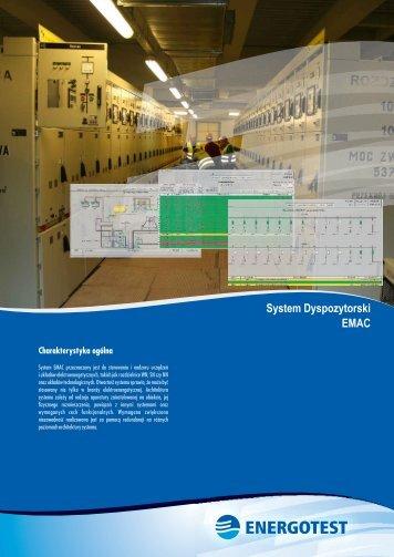 System Dyspozytorski EMAC - Energotest