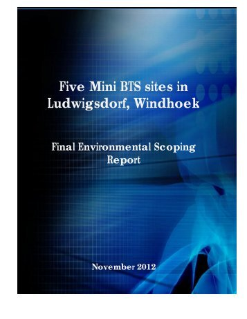 Final Environmental Scoping Report MTC.docx - Enviro Dynamics ...