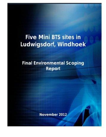 Final Environmental Scoping Report MTC.docx - Enviro Dynamics ...