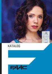 Katalog FAAC 2012