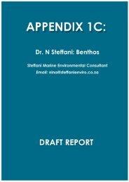 Marine Benthic Study.pdf - Enviro Dynamics Namibia