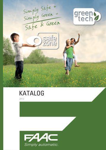 Pobierz katalog Faac 2013