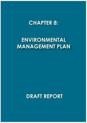 Environmental Management Plan - Enviro Dynamics Namibia