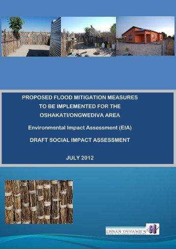 Draft Social Impact Assessment - Enviro Dynamics Namibia