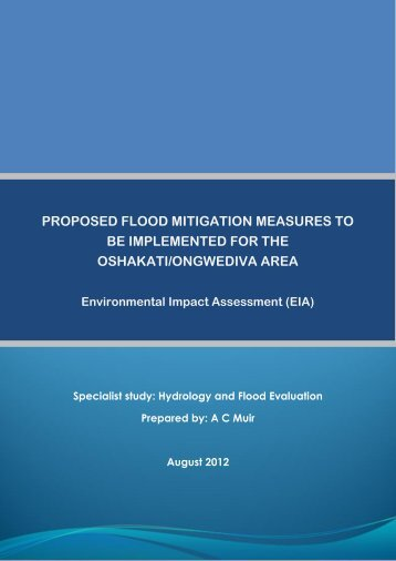 Hydrology and Flood Evaluation - Enviro Dynamics Namibia