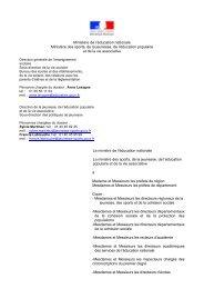 Circulaire projet éducatif territorial - Direction Départementale de la ...
