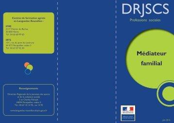 Médiateur familial - DRJSCS