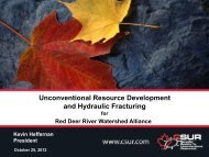Unconventional Resource Development and Hydraulic Fracturing