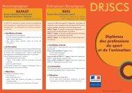 plaquette generaliste - DRJSCS