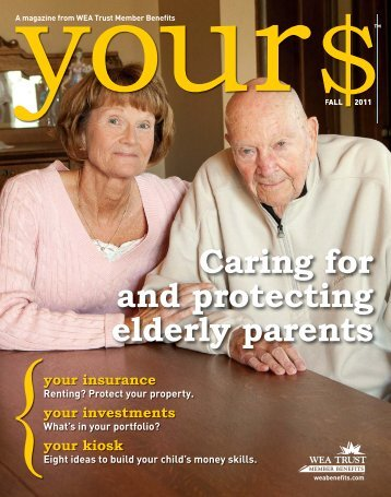 Caring for and protecting elderly parents - WEA Trust Member Benefits
