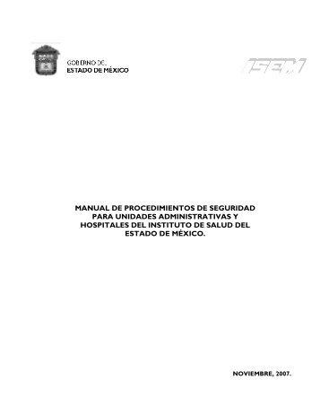 Manual de Procedimientos de Seguridad para Unidades