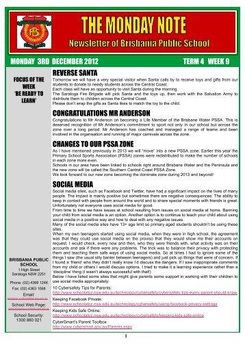 05 Monday Note, 3rd December 2012 Week 49 [pdf, 1 MB]