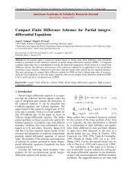 Compact Finite Difference Schemes for Partial integro-differential ...