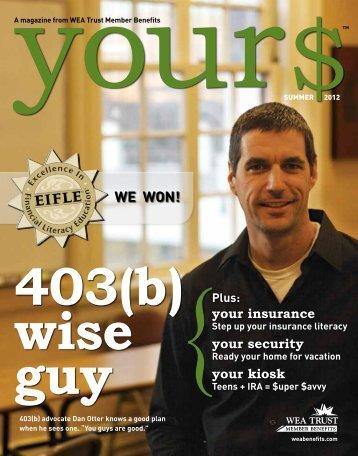 View PDF - WEA Trust Member Benefits
