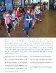Sept 2012 Article - Miller Marley School of Dance and Voice