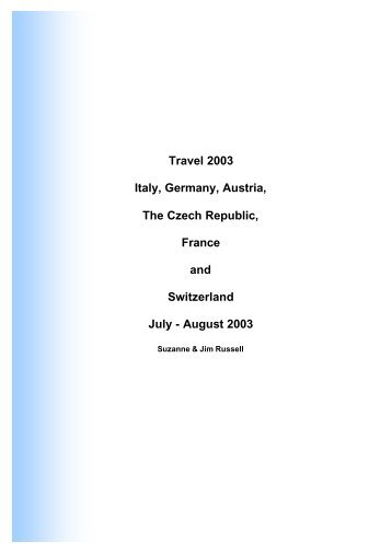 Italy and Germany 2003.pdf - jimrussell.id.au