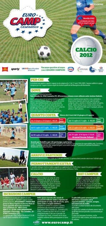 CALCIO 2012 - Eurocamp