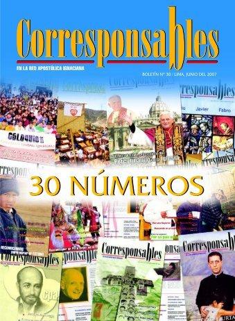 Corresponsables 30 - Jesuitas del Perú