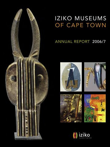2006/7 Annual Report - Iziko Museums