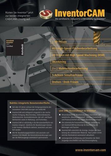 iMachining - InventorCAM