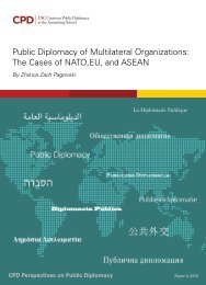Public Diplomacy of Multilateral - Full June 2015